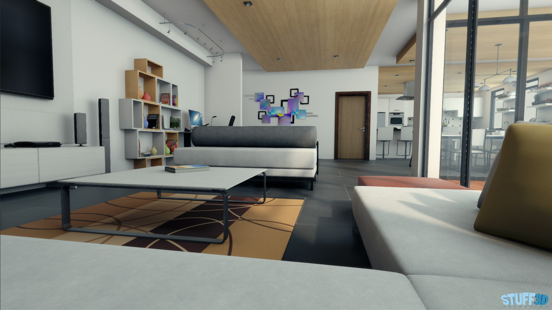 Apartamento – Real Time Unity3D – 02